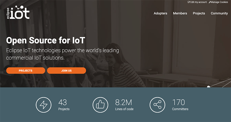 Eclipse IoT Homepage